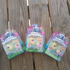 Lot of 3 packs of Hatchimals season 3 mini twins
